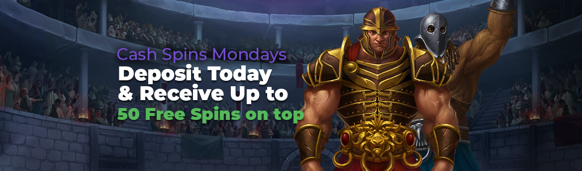 Monday: Cash Spins